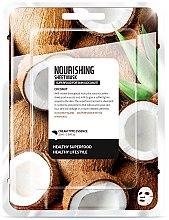 Düfte, Parfümerie und Kosmetik Nährende Tuchmaske mit Kokosnuss - Farmskin Superfood For Skin Nourishing Sheet Mask