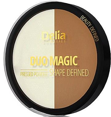 Gepresster Puder - Delia Duo Magic Shape Defined — Bild N1