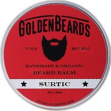 Düfte, Parfümerie und Kosmetik Bartbalsam Surtic - Golden Beards Beard Balm