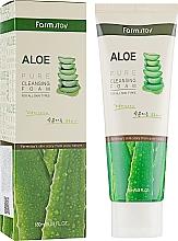 Düfte, Parfümerie und Kosmetik Gesichtsreinigungsschaum mit Aloe Vera-Extrakt - FarmStay Pure Cleansing Foam Aloe