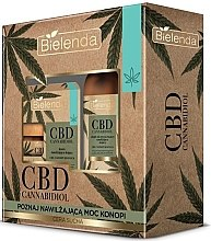 Düfte, Parfümerie und Kosmetik Gesichtspflegeset - Bielenda CBD Cannabidiol (Creme 50ml + Öl 15ml)