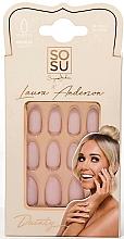 Düfte, Parfümerie und Kosmetik Künstliche Nägel Set - Sosu by SJ False Nails Medium Stiletto Laura Anderson Dainty