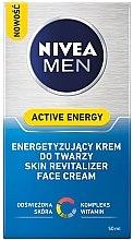 Pflegende und energetisierende Gesichtscreme für Männer - Nivea For Men Active Energy — Bild N2