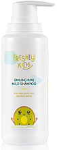 Düfte, Parfümerie und Kosmetik Mildes Shampoo mit Kiwi für Kinder - Freshly Cosmetics Smiling Kiwi Mild Shampoo