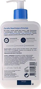 Gesichts- und Körperlotion mit 3 essentiellen Ceramiden - CeraVe Facial Moisturizing Lotion — Bild N3