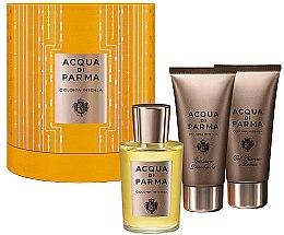 Düfte, Parfümerie und Kosmetik Acqua di Parma Colonia Intensa - Duftset (Eau de Cologne 100ml + Duschgel 75ml + After Shave Balsam 75ml)