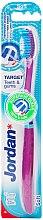 Düfte, Parfümerie und Kosmetik Zahnbürste weich Target violett - Jordan Target Teeth & Gums Soft