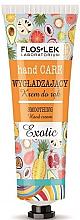 Düfte, Parfümerie und Kosmetik Glättende Handcreme mir exotischem Duft - Floslek Hand Care Smoothing Cream Exotic
