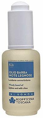 Bartöl mit holziger Duft - Biofficina Toscana Woody Beard Oil — Bild N1