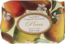Düfte, Parfümerie und Kosmetik Seife Birne - Saponificio Artigianale Fiorentino Pear