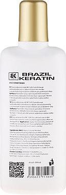Balsam für geschädigtes Haar mit Keratin - Brazil Keratin Anti Frizz Gold Conditioner — Bild N2