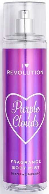 Körperparfum Purple Clouds - I Heart Revolution Body Mist Purple Clouds