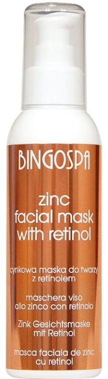 Zink Gesichtsmaske mit Retinol - BingoSpa Zinc Mask To The Face — Bild N1