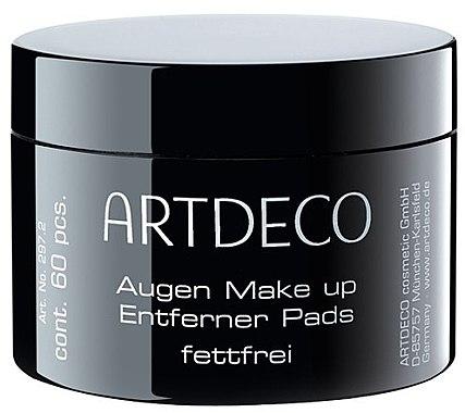 Augen-Make-up Entferner-Pads fettfrei - Artdeco Eye Makeup Remover Pads Non Oily — Bild N1