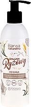 Düfte, Parfümerie und Kosmetik Pflegender Reisbalsam für den Körper mit Vitaminkomplex - Barwa Naturalna