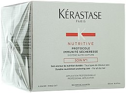 Düfte, Parfümerie und Kosmetik Aufbauende Pflege für sehr trockenes Haar - Kerastase Protocole Immunite Secheresse Soin №1