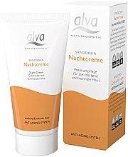 Düfte, Parfümerie und Kosmetik Nachtcreme mit Sanddorn - Alva Sea Buckthorn Night Cream