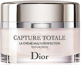 Düfte, Parfümerie und Kosmetik Revitalisierende und glättende Anti-Aging Gesichtscreme mit reichhaltiger Textur - Dior Capture Totale Multi-Perfection Creme Rich Texture