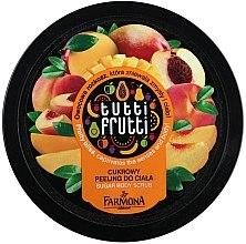 "Körperpeeling mit Zucker ""Pfirsich & Mango"" - Farmona Tutti Frutti Sugar Scrub — Bild N5"