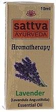Düfte, Parfümerie und Kosmetik Ätherisches Lavendelöl - Sattva Ayurveda Lavender Essential Oil