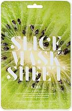 Düfte, Parfümerie und Kosmetik Feuchtigkeitsspendende und revitalisierende Tuchmaske mit Kiwi - Kocostar Slice Mask Sheet Kiwi