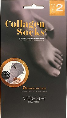 Kollagen Fußmaske in Socken - Voesh Collagen Socks Value Pack — Bild N1
