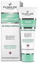 Düfte, Parfümerie und Kosmetik Feuchtigkeitsspendende Gesichtscreme für empfindliche Haut - Floslek Face Cream