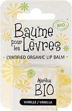 """Düfte, Parfümerie und Kosmetik Bio-Lippenbalsam """"Vanille"""" - Marilou Bio Certified Organic Lip Balm"""
