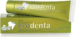Düfte, Parfümerie und Kosmetik Zahnschmelz stärkende Zahnpasta mit Melonengeschmack - Ecodenta Extra Enamel Strengthening Melon Flavor Toothpaste