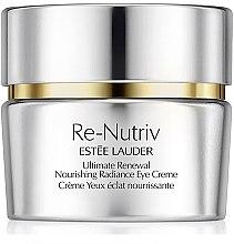 Düfte, Parfümerie und Kosmetik Revitalisierende nährende Augencreme - Estee Lauder Re-Nutriv Ultimate Renewal Nourishing Radiance