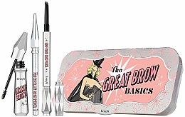 Düfte, Parfümerie und Kosmetik Augenbrauen-Set (Augenbrauengel 3g+Augenbrauenstift 0.17g+Mini-Augenbrauenstift 0.04g) - Benefit The Great Brow Basics