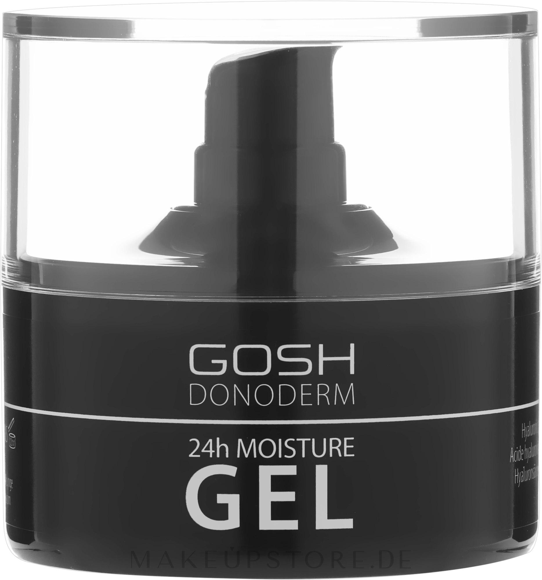 Feuchtigkeitsspendendes Gesichtsgel - Gosh Donoderm 24h Moisture Gel Prestige — Bild 50 ml