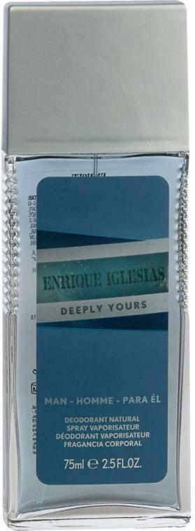 Enrique Iglesias Deeply Yours for Him - Parfümiertes Körperspray — Bild N1