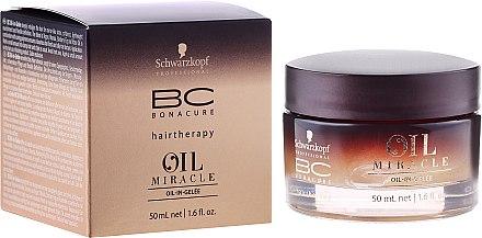 Anti-Frizz Haargel mit 4 hochwertigen Ölen - Schwarzkopf Professional BC Oil Miracle  — Bild N1