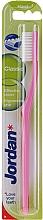 Zahnbürste hart Classic rosa - Jordan Classic Hard Toothbrush — Bild N2
