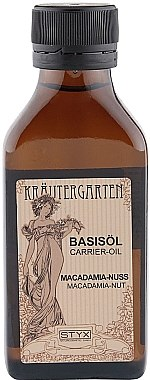 Basisöl mit Macadamia - Styx Naturcosmetic Macadamia Basisol Carrier-Oil — Bild N1