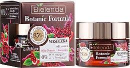 Düfte, Parfümerie und Kosmetik Pflegende Gesichtsmaske - Bielenda Botanic Formula Pomegranate Oil + Amaranth Nourishing Face Mask