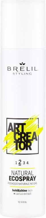 Haarspray mit Kaktusextrakt Mittlerer Halt - Brelil Art Creator Natural Ecospray — Bild N1