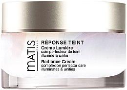 Düfte, Parfümerie und Kosmetik Gesichtscreme für einen gleichmäßigen Teint mit lichtreflektierenden Pigmenten - Matis Paris Reponse Teint Radiance Cream