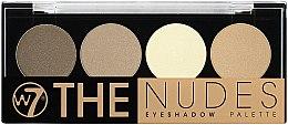 Düfte, Parfümerie und Kosmetik Lidschatten - W7 The Nudes Eyeshadow Palette
