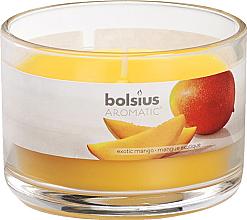 Düfte, Parfümerie und Kosmetik Duftkerze im Glas Mango - Bolsius Candle h 6,3cm Ø9cm