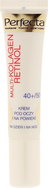 Augenkonturcreme - Dax Cosmetics Perfecta Multi-Collagen Retinol Eye Cream 40+/50+ — Bild N2