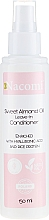 Conditioner mit Mandelöl und Hyaluronsäure ohne Ausspülen - Nacomi No-Rinse With Sweet Almond & Hyaluronic Acid Conditioner — Bild N1