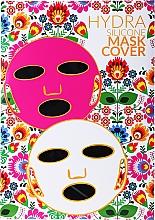 Düfte, Parfümerie und Kosmetik Wiederverwendbarer Silikon-Masken-Überzug für Blattmaske schwarz - Hydra Silicone Mask Cover
