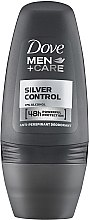 Düfte, Parfümerie und Kosmetik Deo Roll-on Antitranspirant - Dove Silver Control Man Deodorant Roll-on