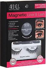 Düfte, Parfümerie und Kosmetik Make-up Set (Eyeliner 2g + Magnetische Wimpern 2St.) - Magnetic Lash & Liner Lash Demi Wispies