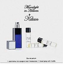 Düfte, Parfümerie und Kosmetik Kilian Moonlight in Heaven Travel - Duftset (Eat de Parfum + 4 Zerstäuber x7.5ml)