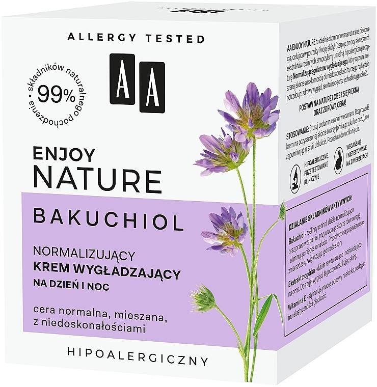 Normalisierende und glättende Gesichtscreme - AA Enjoy Nature Bakuchiol Normalising Smoothing Day&Night Cream — Bild N4