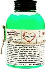 Düfte, Parfümerie und Kosmetik Badeschaum Bambus und Pfefferminze - The Secret Soap Store Bath Foam Bamboo With Peppermint