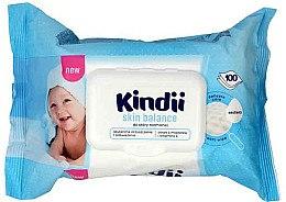Düfte, Parfümerie und Kosmetik Feuchttücher für Kinder 100 St. - Cleanic Kindii Skin Balance